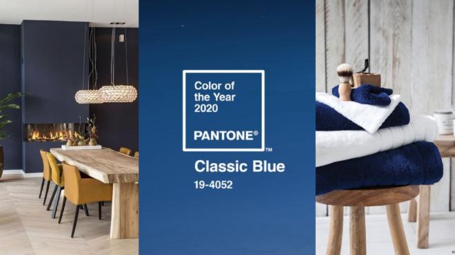 Le Classic Blue : la couleur tendance pour 2020